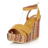 COLOR DELIGHT WEDGE - B ANN'S BOUTIQUE