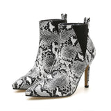 THE SNAKE SENSATION ANKLE BOOTIE - B ANN'S BOUTIQUE