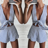 STRIPES ARE RIGHT SHORTS SET - B ANN'S BOUTIQUE