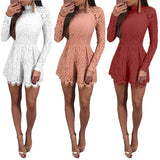 IT'S ALL ABOUT THE LACE, LACE-UP ROMPER - B ANN'S BOUTIQUE