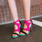 COLOR PARTY SANDALS - B ANN'S BOUTIQUE
