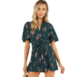 A WALK IN THE FOREST ROMPER - B ANN'S BOUTIQUE