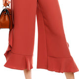 ALLIE'S ANKLE RUFFLE PANTS - B ANN'S BOUTIQUE