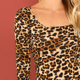 LOVELY LEOPARDESS BODYSUIT - B ANN'S BOUTIQUE