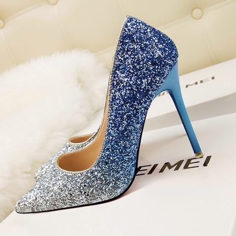 SPARKLE SENSATION PUMP - B ANN'S BOUTIQUE
