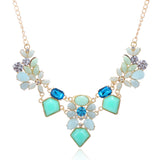 FLOWER POWER CHUNKY NECKLACE - B ANN'S BOUTIQUE