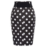 HIGH-WAISTED PENCIL SKIRT - B ANN'S BOUTIQUE