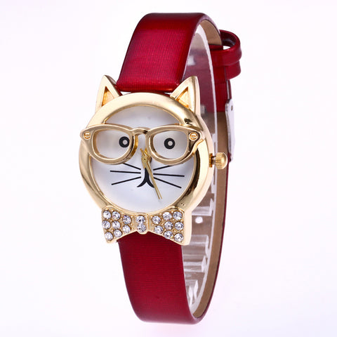 QUIRKY CAT WATCH - B ANN'S BOUTIQUE
