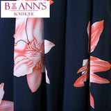 BACKLESS FLORAL MAXI DRESS - B ANN'S BOUTIQUE