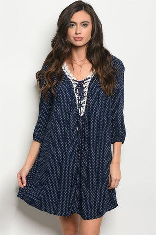 THE NELLIE NAVY GIRL - B ANN'S BOUTIQUE