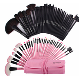 PROFESSIONAL BAG OF MAKEUP BRUSHES -- 32 PIECES - B ANN'S BOUTIQUE