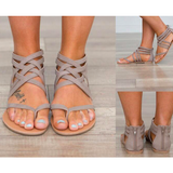 WOMENS EUROPEAN ROME STYLE SANDALS - B ANN'S BOUTIQUE