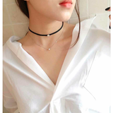 NAUGHTY & NICE CHOKER SET - B ANN'S BOUTIQUE
