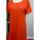 WOMENS O-NECK TSHIRT MINI DRESS - B ANN'S BOUTIQUE