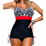 WOMENS ONE-PIECE RETRO SWIMSUIT - B ANN'S BOUTIQUE