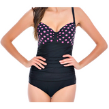 WOMENS VINTAGE ONE-PIECE SWIMSUIT - B ANN'S BOUTIQUE