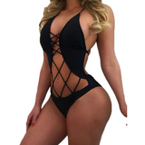 CRISSCROSS BACK IT OUT BODYSUIT - B ANN'S BOUTIQUE