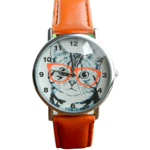 CUTIE CAT I SEE YOU WATCH - B ANN'S BOUTIQUE
