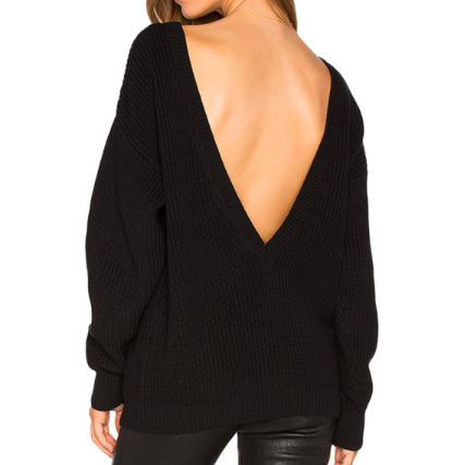 BACK IT OUT PULLOVER SWEATER - B ANN'S BOUTIQUE
