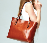 THE MUST HAVE  LEATHER TOTE - B ANN'S BOUTIQUE