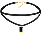 LEATHER CHOKER NECKLACES SET - B ANN'S BOUTIQUE