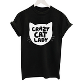 CRAZY CAT LADY TSHIRT - B ANN'S BOUTIQUE