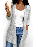 LOOSE FITTING KNITTED CARDIGAN - B ANN'S BOUTIQUE
