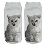 KITTEN COMES ALIVE 3D SOCKS - B ANN'S BOUTIQUE