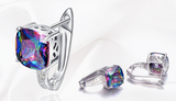 RAINBOW TOPAZ EARRINGS - B ANN'S BOUTIQUE