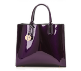 PATENT LEATHER TOTE - B ANN'S BOUTIQUE