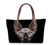 SPHYNX CAT TOTE - B ANN'S BOUTIQUE