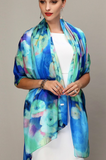 FLORAL BOUQUET SCARF - B ANN'S BOUTIQUE