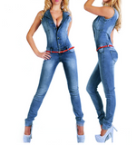 DENIM DIVA JUMPSUIT - B ANN'S BOUTIQUE