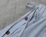 VINTAGE STRIPED SKIRT - B ANN'S BOUTIQUE