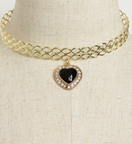 METAL READY CHOKER - B ANN'S BOUTIQUE