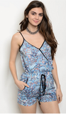 THE PAISLEY PERFECTION ROMPER - B ANN'S BOUTIQUE