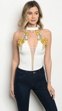 SUNSHINE BOUQUET BODYSUIT - B ANN'S BOUTIQUE