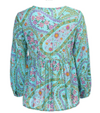 PAISLEY PARTY BOHO BLOUSE