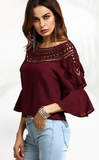 THE CALLIE CUT-OUT BLOUSE