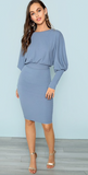 BABE IN BLUE DRESS - B ANN'S BOUTIQUE