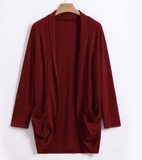 RAE'S RUCHED CARDIGAN - B ANN'S BOUTIQUE