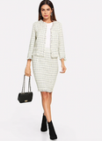 CHIC & IN CHARGE BLAZER SET - B ANN'S BOUTIQUE