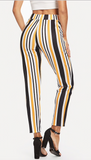 LINED UP RIGHT ANKLE PANTS - B ANN'S BOUTIQUE