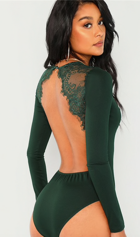 LACEY'S PARTY BODYSUIT - B ANN'S BOUTIQUE