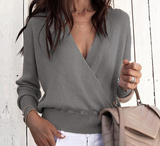 CAMERON'S PERFECT CRISSCROSS SWEATER - B ANN'S BOUTIQUE