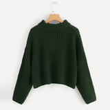 THE KNITTED NANCY PULLOVER SWEATER - B ANN'S BOUTIQUE