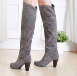 THE NELLIE KNEE-HIGH BOOTS - B ANN'S BOUTIQUE