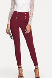 BELLA BUTTON PANTS - B ANN'S BOUTIQUE