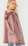 PINK LADY  HOODED - B ANN'S BOUTIQUE
