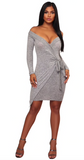 ALL WRAPPED UP SWEATER DRESS - B ANN'S BOUTIQUE
